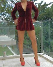 VINTAGE Nostalgia 1920s-30s Original RARE Couture Tailored Velvet Glamour Jacket