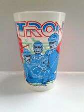 Vintage Tron 1981 Unused Walt Disney Coca Cola Movie Promotional Cup Sci Fi