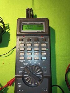 Amrel / American Reliance 186T. Handheld Analog TIMS Test Set, Capacitance Meter