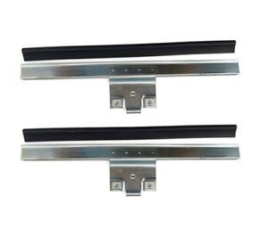 0EM Rear L&R Door Glass Window Lift Channel Rail+Seal Rubber For VW Jetta Golf 2
