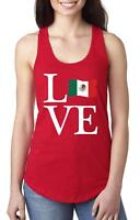 Love Mexico  Women Tops Next Level Racerback Tank Top
