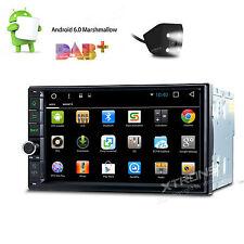 "In Dash Andriod 6.0 Double 2Din 7"" Car Stereo GPS DAB+ Radio WiFi 3G Head Unit"