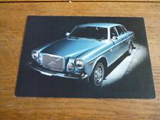 VOLVO 164 SERIES  ORIGINAL, FACTORY POSTCARD