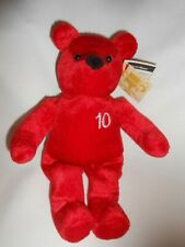 Nutrisystem Authentic weight loss Teddy bear 10lbs weight loss New NWT Red Plush