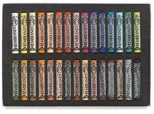 Rembrandt Artists Soft Pastel Set - Full Size Pastels - 30 Colours - Portrait