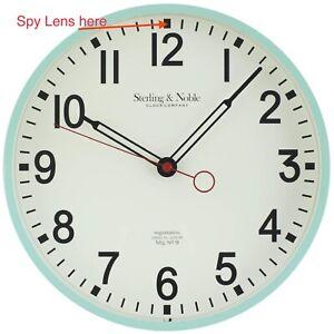 "Spy Camera WiFi Nanny Wall Cam Motion Detection Video & Audio Recording 11.5"""
