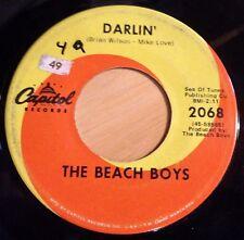 Beach Boys 45 Darlin' / Here Today