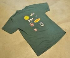 Tommy Hilfiger Cycling Gear Boys Large/Men's Small T-Shirt Short Sleeve Green