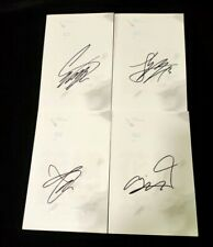 hand signed Bangtan Boys autographed Young Forever PT.1 white version limited