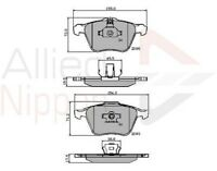 Allied Nippon Front Brake Pad Set ADB01322  - BRAND NEW - 5 YEAR WARRANTY