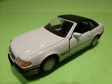 GAMA 1137 MERCEDES BENZ 300SL 500SL - WHITE 1:43 -  EXCELLENT CONDITION