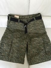 Levi's Men's Squad Cargo Relaxed Camo Shorts Size 31