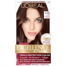 L'Oreal Excellence Creme 4AR Dark Chocolate Brown