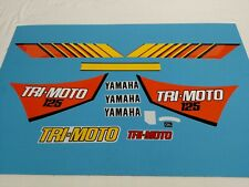 YAMAHA YT125 TRI-MOTO YT 125 THREE WHEELER 1983 DECAL GRAPHIC SET (#Y38)