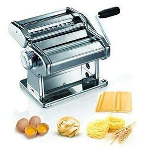 Pasta Machine, 150 Roller Manual Pasta Makers with Thickness 7 Adjustable
