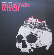 Mountain Witch ‎- Burning Village LP Colored Vinyl Doom Metal Stoner Rock - NEW