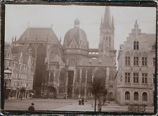 Allemagne, Cathédrale d'Aix-la-Chapelle (Aachen), ca.1900, Vintage citrate