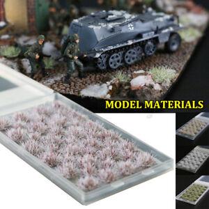 Military Model Scene Winter Snow Series Grass Train Railroad Scener