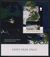 MONTSERRAT   2015  EARTH FROM SPACE  SOUVENIR  SHEET  MINT NH
