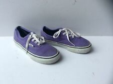Junior VANS Purple Lace Up Trainers, Size: UK - 13.5