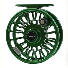 Galvan Torque T-4 Fly Reel - Green - NEW - FREE FLY LINE