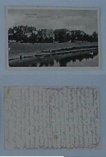 diedenhofen moselanlagen mit flohturm 1918 / verlag robert dahms  diedenhofen