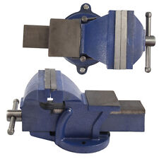 """5"""" 125mm Work Bench Vice Vise Workshop Clamp Engineer Jaw Swivel Base Heavy Duty"""