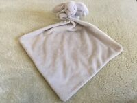Little Jelly Cat Gray Bunny Rabbit Fleece Lovey Security Blanket Baby Toy