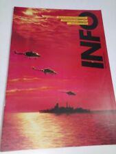 Royal Netherlands Navy INFO Vintage Magazine Brochure Dutch Navy