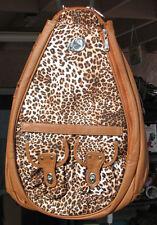 Whak Sak Animal Style Designer Tennis Sling Backpack Rucksack All Occasions New