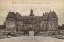 CPA  Environs de Melun - Cháteau de Vaux le Vicomte   (171104)