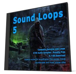 Cinematic Collection Sound Loops 5 WAV Loops Ableton FL Studio Cubase Sonar
