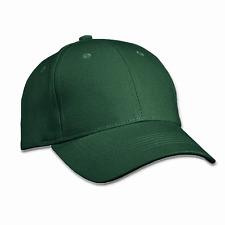 6 Panel Cap Basecap Kappe Raver Cap Baseballkappe Mütze Clean Grün Green Neutral