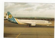 Air Ukraine International Boeing 737-4Y0 Aviation Postcard, A767