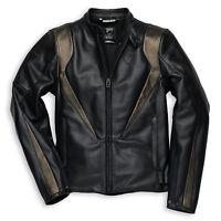 DUCATI Dainese DIAVEL TECH Lederjacke Jacke Leather Jacket schwarz NEU !!