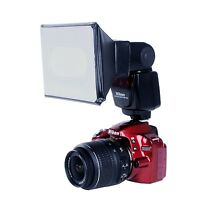 Movo Photo Universal Softbox Flash Diffuser for Canon EOS/Nikon/Sony DSLR Camera