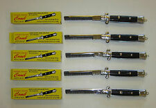 5 NEW POCKET SWITCHBLADE COMBS FAKE FOLDING NOVELTY KNIFE TOY SWITCH BLADE COMB
