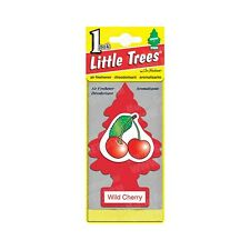 LITTLE TREES WILDCHERY AIR CAR FRESHNER  Pack of 24 Free Shipping