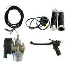 Handlebar Grip Set&Carburetor&Clutch Lever For 66/80cc Engine Motorized Bicycle