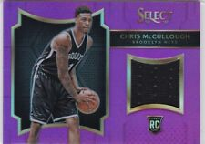 Chris McCullough 2016-17 Select, Rookie Swatches, Purple Prizm, 38/99