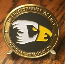 MDA Missile Defense Agency Concept Exploration Challenge Coin