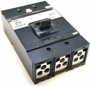 Square D MAL36450 3 Pole 450 Amp 600 Vac Circuit Breaker