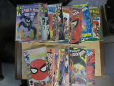 SPECTACULAR + WEB OF SPIDERMAN Lot of 37 Marvel Comics Hobgoblin 1985-92 F-VF/+