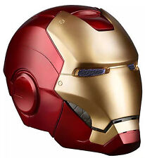 The Avengers Marvel Legends Iron Man Helmet Mask Electronic Christmas Gift Cos