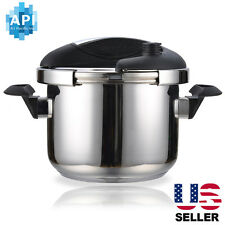 6.3 Qts Stainless Steel Instant Pressure Cooker Canner Pot
