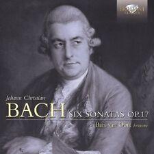BART VAN OORT - SIX SONATAS OP.17  CD NEU BACH,JOHANN CHRISTIAN