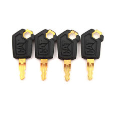 4PCS Heavy Equipment Ignition Loader Dozer Key For Caterpillar 5P8500 CAT &L