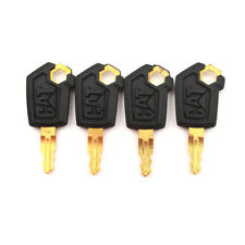 4PCS Heavy Equipment Ignition Loader Dozer Key For Caterpillar 5P8500 CAT *^