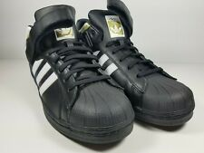 NEW Adidas PRO SHELL Sneakers - Black Gold - Mens Size 11 - BY4381