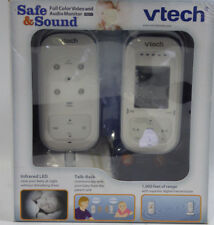 Vtech Vm311 Safe and Sound Full Color Video and Audio Baby Monitor